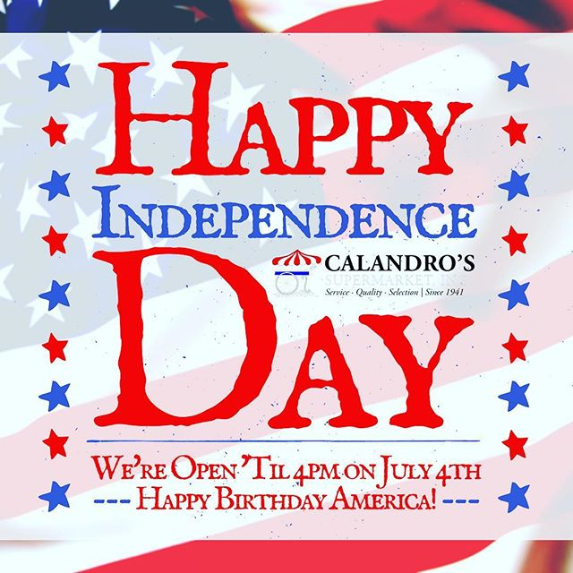 Wishing all our customers a safe and happy #fourthofjuly !! We will be open until…