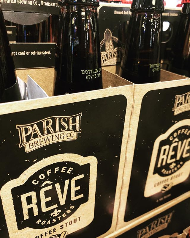 ☕️🍩☕️🍩☕️🍩☕️🍩☕️🍩☕️🍩☕️ @parishbrewingco Rêve Coffee Stout is now available at our Perkins Rd location! Limit 2-…