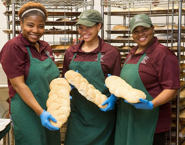 Meet the lovely ladies of our bakery department at the Perkins Road location. Jande, Karri…