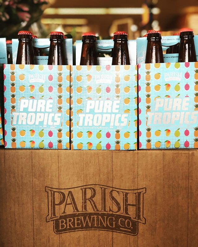 We just received another shipment of @parishbrewingco Pure Tropics at our Perkins Rd location! #beer…