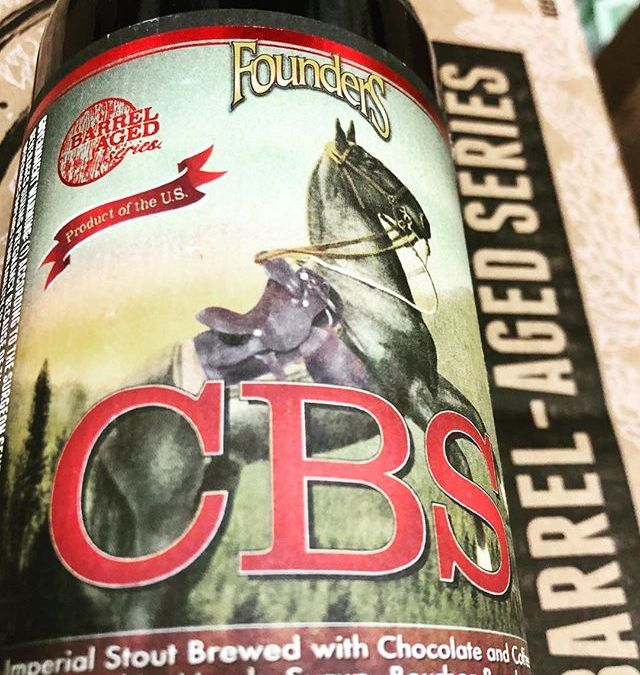 @foundersbrewing CBS, Imperial Stout Brewed with Chocolate and Coffee Aged in Maple Syrup- Bourbon Barrels,…
