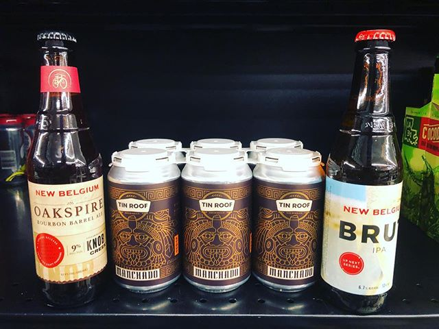 New brews now in stock at our #midcity location! #beer #drinklocal #oakaged #brut #bubbles