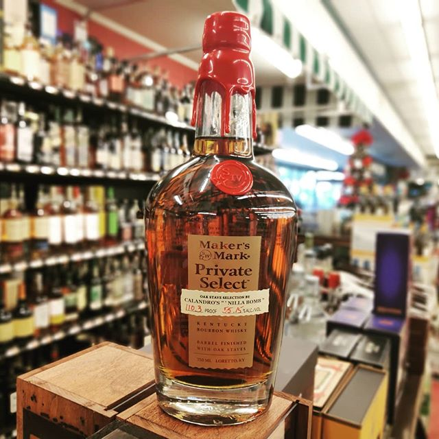 Calandro's hand-picked, single barrel @makersmark #NillaBomb is now at Calandro's Mid-City! And again – the…