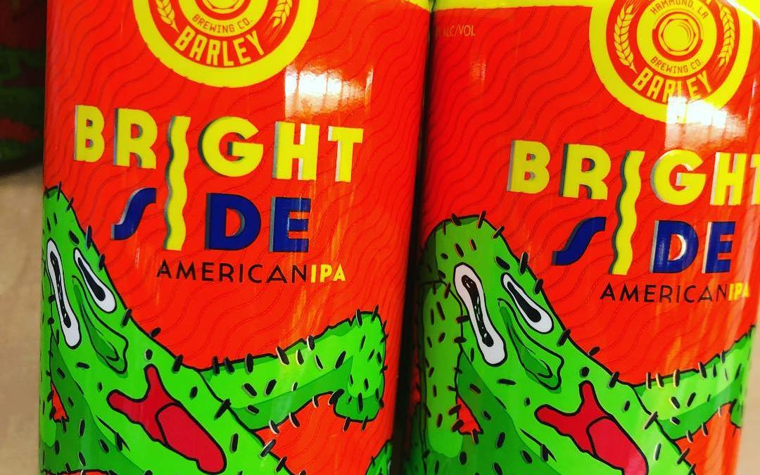 @gnarlybarley Bright Side is now available at BOTH locations! #beer #freshhops #drinklocal #purty
