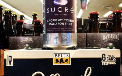 @nolabrewing collab with @sucreneworleans Blackberry Cobbler Macaron Stout and @bellsbrewery Official Hazy IPA are both…