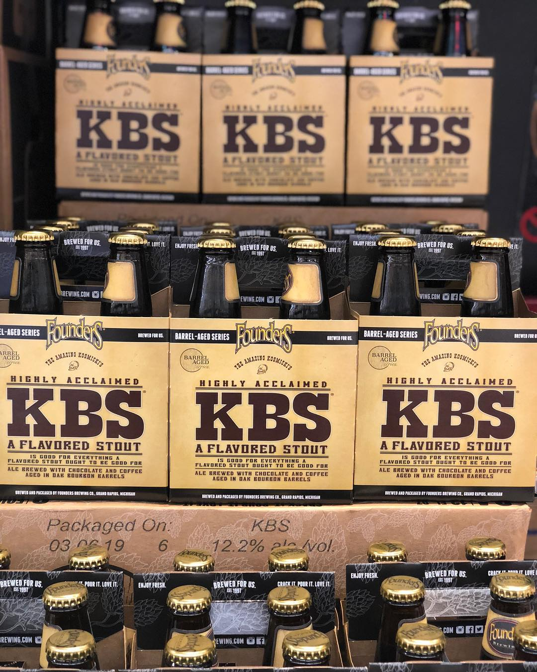 @foundersbrewing KBS is now in stock at our Perkins Rd location for the #lowprice of…