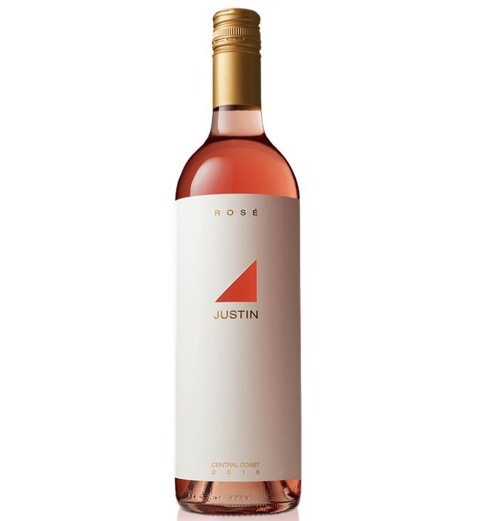 Our April #wineofthemonth is perfect for this gorgeous spring weather !! This 2018 JUSTIN Rosé…