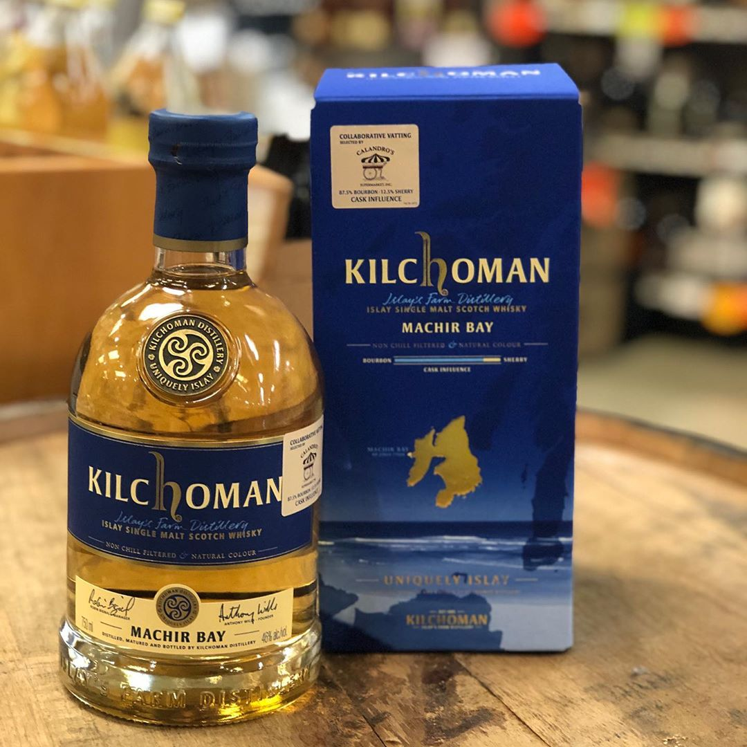 Our @kilchomanwhisky Machir Bay collaborative vatting made up of bourbon and sherry cask finished juice…