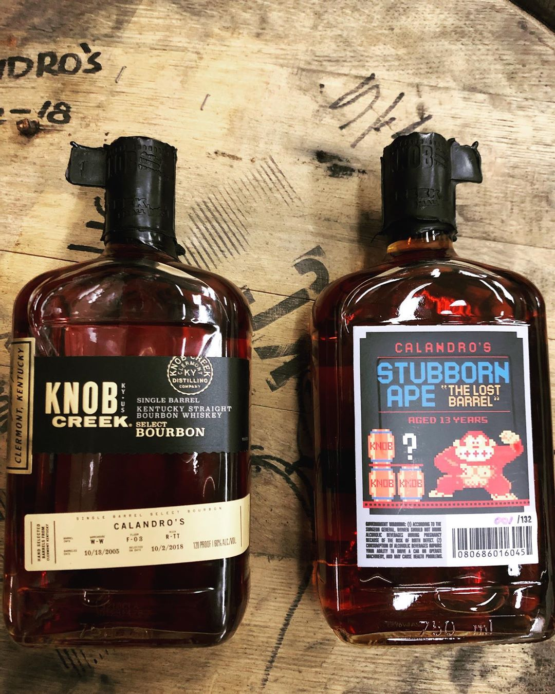 Our newest @knobcreek pick has arrived at our Perkins Rd location! We picked this 13…
