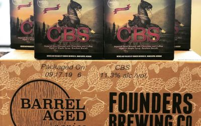 @foundersbrewing CBS is now available at our Perkins Rd location! #beer #barrelagedbeer #stoutseason #gostros