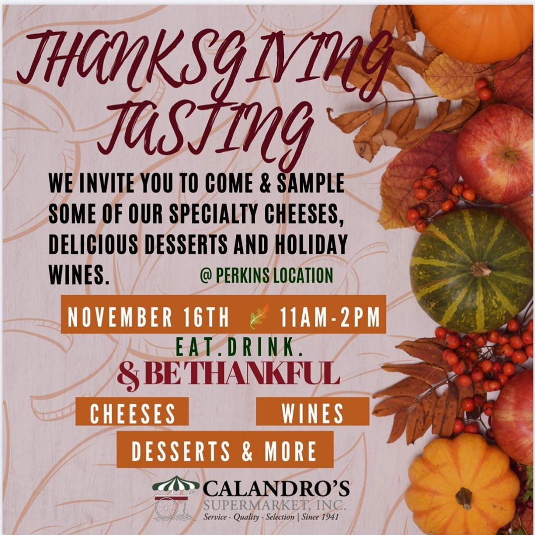 Join us November 16th from 11AM-2PM. Wine, Cheese, Dessert and more. #gobbletilyouwobble #turkeydaypregame