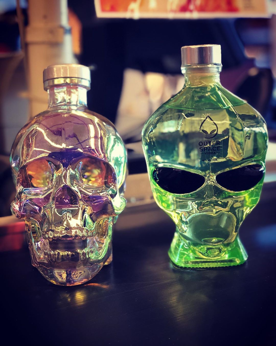 Looking for some Halloween Party vodka? Check these out from @crystalheadvodka and @outerspacevodka … both…