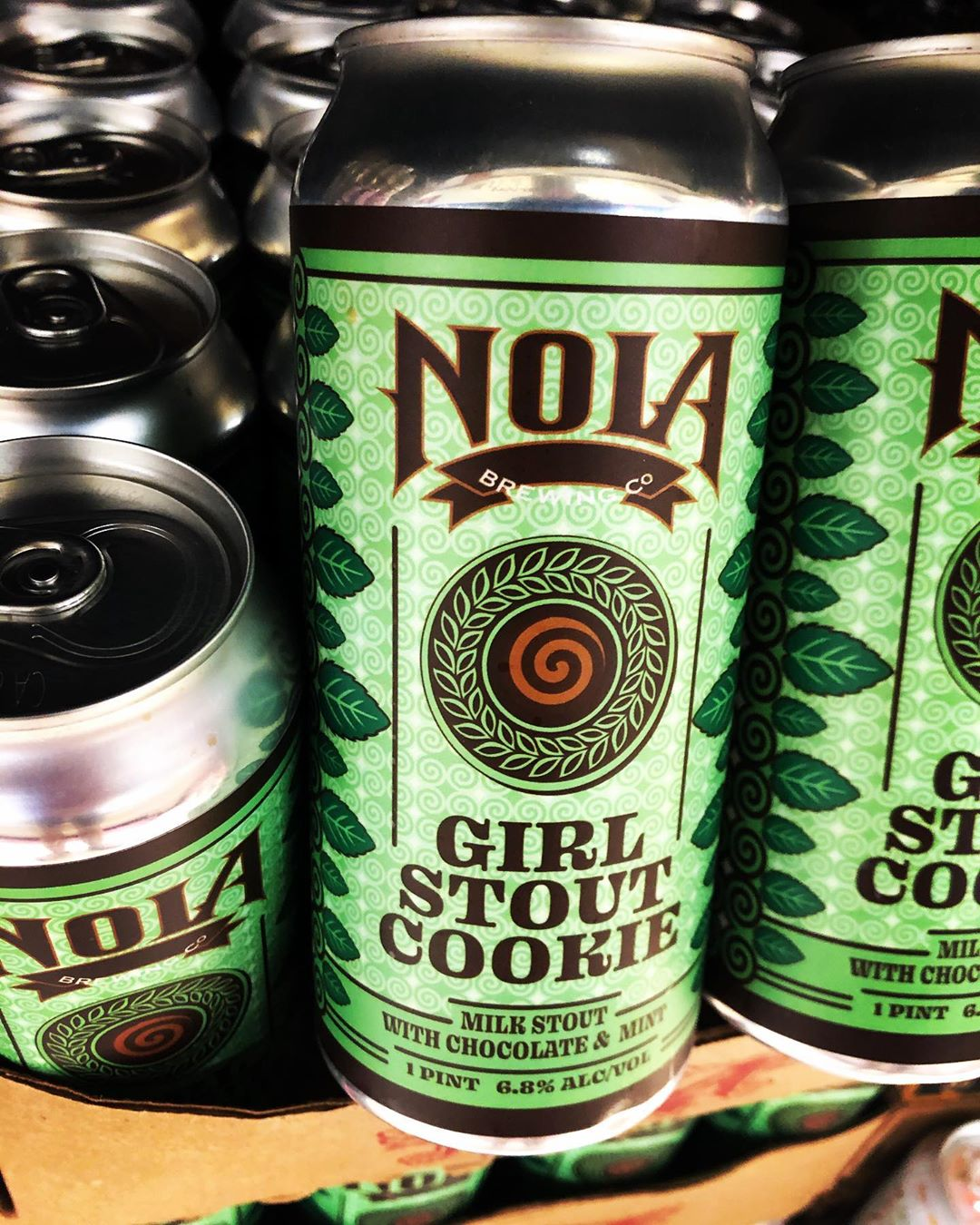 @nolabrewing Girl Stout Cookie, a delightful play on Thin Mint cookies, is now available at…