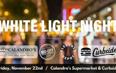 Resharing – @jayducote & #thejayducoteshow at Calandro's Mid-City tonight for @midcitymerchants #WhiteLightNight2019!!! . 🎙️📻🎙️📻🎙️📻🎙️ ….