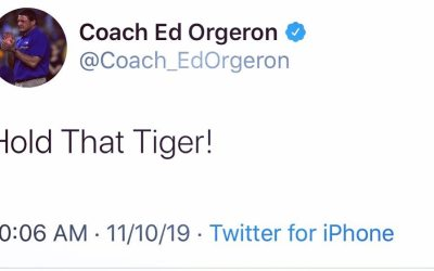 We couldn't have said it better Coach-O! Geaux Tigers 🐅… #geauxtigers🐯 #beatbama #finally