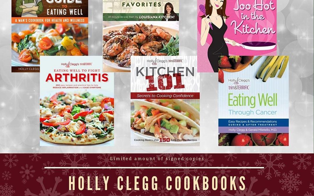 Make this Christmas a special one with one of these @holly_clegg cookbooks. Find them at…