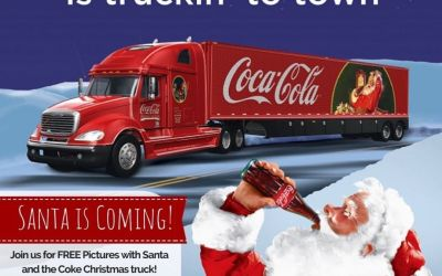 The Coca Cola Christmas Truck Tour is making a stop at Calandro's! Join us at…