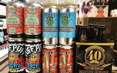 New brews now in stock at our Perkins Rd location! @gnarlybarley @saintarnoldbrewing @sierranevada @nolabrewing @urbansouthbeer…