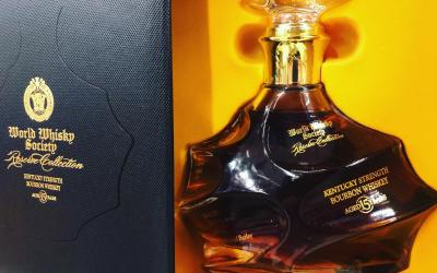 World Whiskey Society Reserve Collection 15 year old Kentucky Straight Bourbon is now in stock