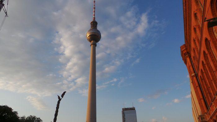 Turnul TV din Berlin - Fernsehturm