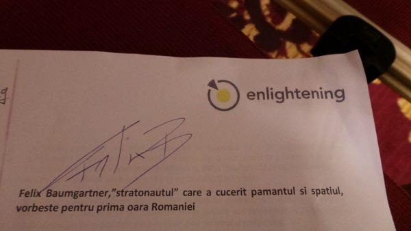 Autograful lui Felix