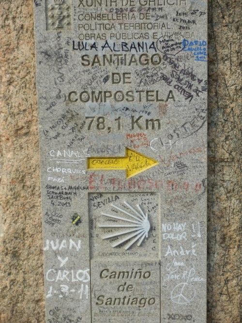 spre Santiago de Compostela - destinatia finala!