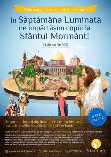 Poster Pelerinajul Copiilor