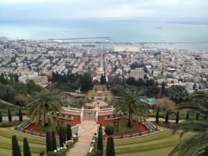 gradinile bahai din Haifa