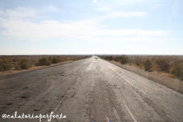 autostrada in Uzbekistan