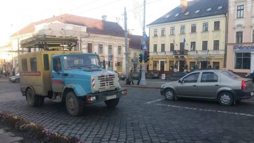 strada in Cernauti