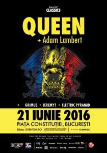 afis-queen-adam-lambert-bucuresti-2016