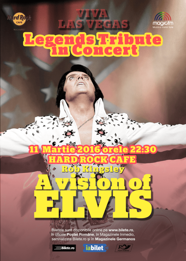 A Vision of Elvis. Rob Kingsley