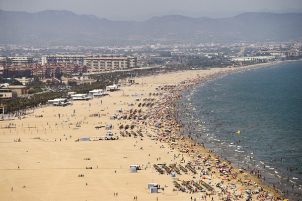 Valencia City Beaches
