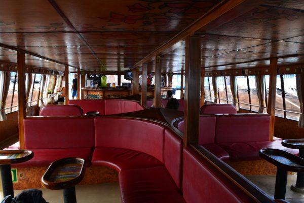 Interiorul vasului