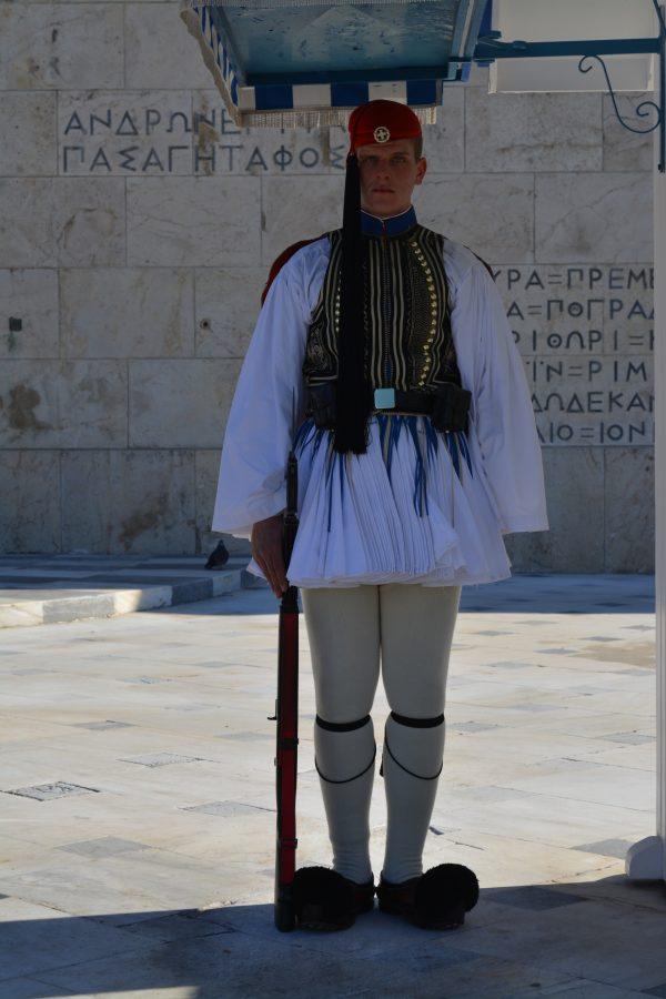 Evzon de garda