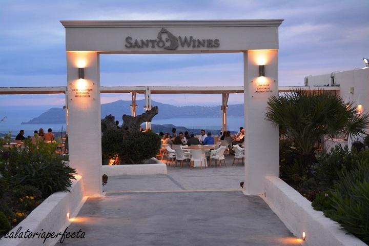 Santo Wines in Santorini