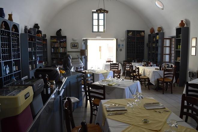 Restaurant Selene din Santorini