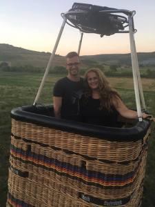 Cu balonul la Wonderland in Cluj