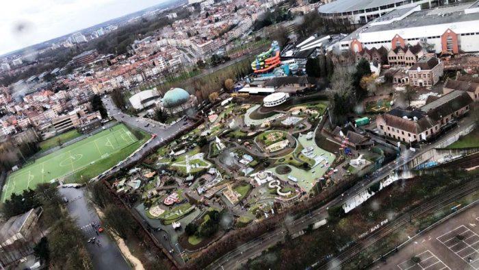 mini europe vazut din Atomium