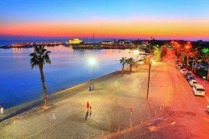portul paphos noaptea