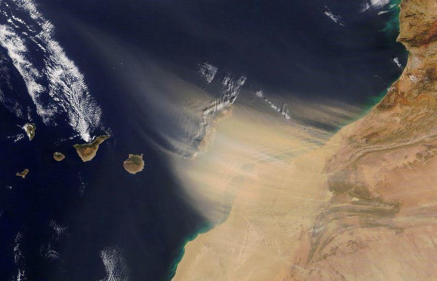 calima in Tenerife