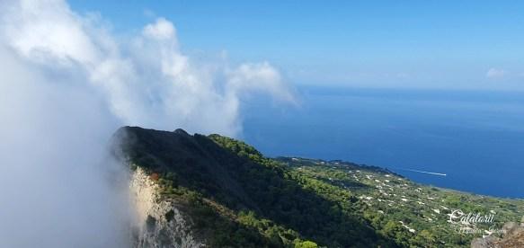 Monte Solaro vedere panoramica asupra Golfului Napoli