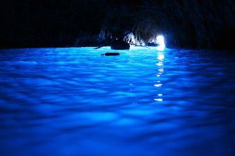 Grotta Azzura. Grota Albastra, Capri