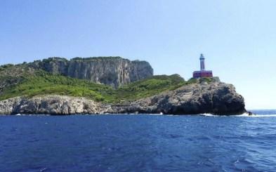 croaziera in Capri, Faro di Punta Carena