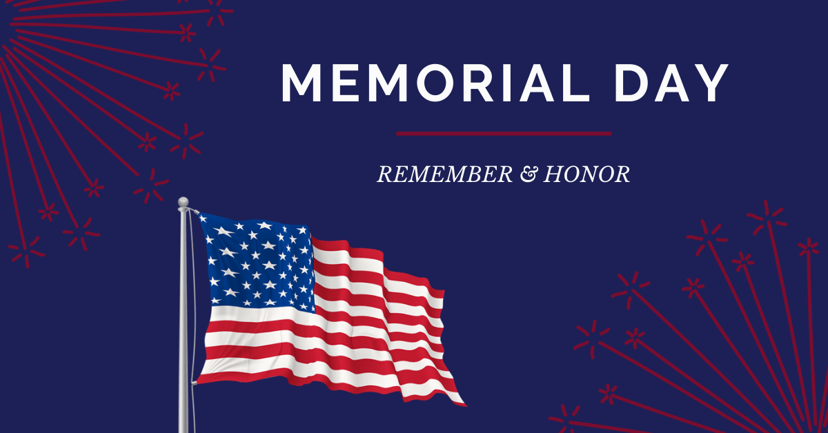 Memorial day- Web, Blog, FB, LI, Twitter