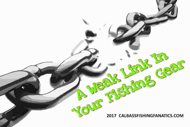 A weak link in your fishing gear