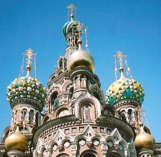 Onion Domed Church on Spilled Blood