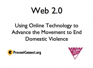 How can Facebook and Twitter help end domestic violence?