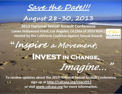 NSAC 2013 Save the Date