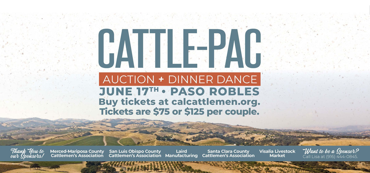 Cattle-Pac Auction + Dinner, June 17, 2020
